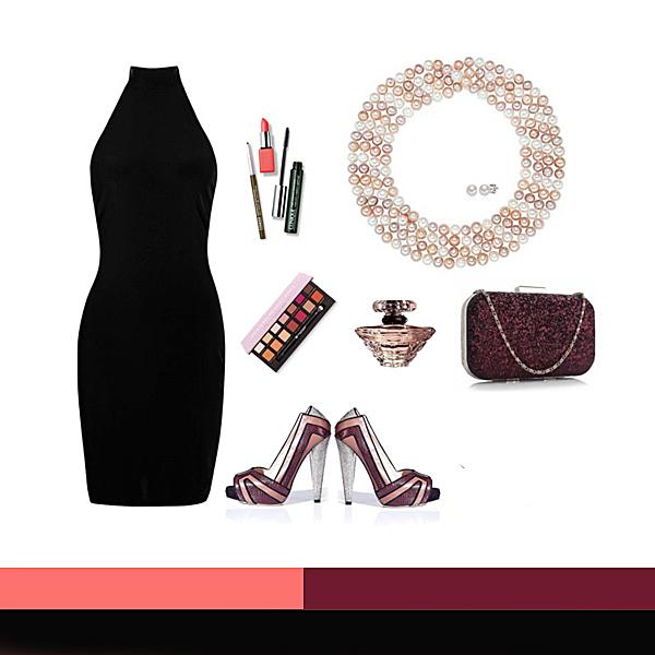Elegant: Coral, Bordeaux, Alb, Negru